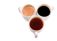 Mugs Of Hot Beverages II Stock Photos