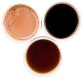 Mugs Of Hot Beverages III Stock Photos
