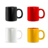 Mugs vector icons Royalty Free Stock Photos
