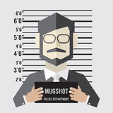 Mugshot Of Businessman Royalty Free Stock Image