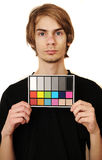 Mugshot of a Videographer Royalty Free Stock Photography