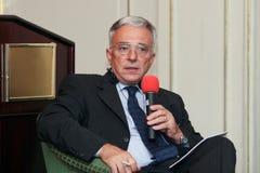Mugur Isarescu Stock Foto's