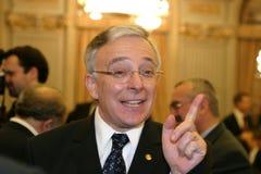 Mugur Isarescu Stock Foto