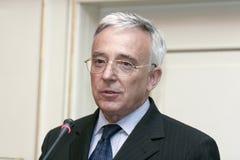 Mugur Isarescu Stock Image
