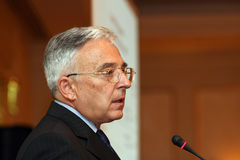 Mugur Isarescu Stock Photo