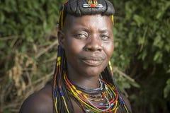 Muhacaona woman. Portrait Royalty Free Stock Photos