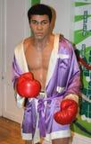 Muhammad Ali à Madame Tussaud's Photo stock