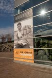 Muhammad Ali Center. In downtown Louisville, Kentucky royalty free stock image