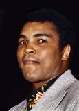 Muhammad Ali. Former world heavyweight professional boxing champion, Muhammad Ali, aka Cassius Clay, aka, The Louisville Lip,  is photographed during the Royalty Free Stock Images