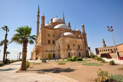 Muhammad Ali Mosque in Kaïro, Egypte Stock Foto