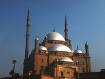 Muhammad Ali Mosque. Tomb of the former regent of Egypt, built on the Citadel in Cairo Stock Photo