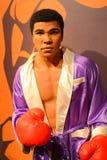 Muhammad Ali - museu da senhora Tussauds Imagem de Stock