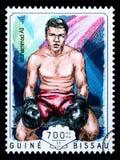 Muhammad Ali Postage Stamp imágenes de archivo libres de regalías