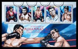 Muhammad Ali Postage Stamp foto de archivo libre de regalías
