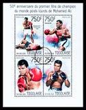 Muhammad Ali Postage Stamp imagen de archivo libre de regalías
