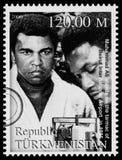 Muhammad Ali Postage Stamp fotos de archivo libres de regalías