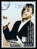 Muhammad Ali Postage Stamp fotos de archivo