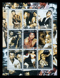 Muhammad Ali Postage Stamp Stock Photos