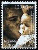 Muhammad Ali Postage Stamp Stock Image
