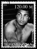 Muhammad Ali Postage Stamp Stock Images