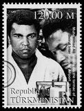 Muhammad Ali Postage Stamp Royalty Free Stock Photos