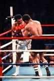 Muhammad Ali v Leon Spinks Fotografia Royalty Free