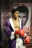 Muhammad ali wax figure Stock Photo