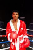 Muhammad Ali Wax figure at Madame Tussauds San Francisco. Wax figure of the famous professional boxer,Muhammad Ali Royalty Free Stock Photo