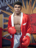 Muhammad Ali wax statue. At the famous Madame Tussaud's museum in Bangkok, Thailand Royalty Free Stock Images