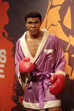 Muhammad Ali. Wax statue at Madame Tussauds in London Royalty Free Stock Photography