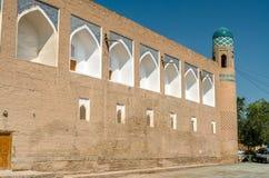 Muhammad Amin Khan Madrassah at Itchan Kala. Khiva, Uzbekistan Stock Photography