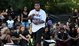 Muhiyidin D'Hba, Charleston, SC Black Lives Matter Chapter Stock Images