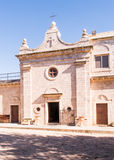 Muhraqa monastery on Mount Carmel l in the place of the prophet Royalty Free Stock Photos