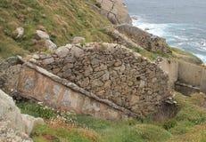 Muiños da Estaca de Оголять, ³ n & x28 MañÃ; Испания & x29; Стоковое Изображение