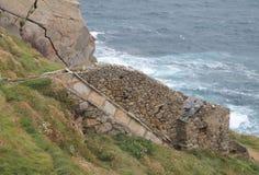 Muiños da Estaca de Оголять, ³ n & x28 MañÃ; Испания & x29; Стоковые Фото