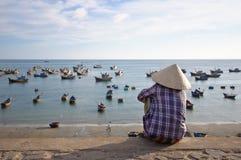 Mui Ne beach Stock Image