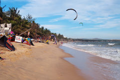 Mui Ne beach. Vietnam Stock Image