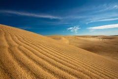 Mui Ne Dunes. White sand dunes in Mui Ne Royalty Free Stock Image