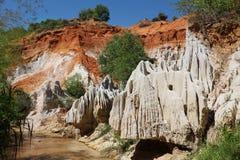 Mui Ne Fairy Spring Canyon Stock Photo