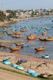 Mui ne fishing village Royalty Free Stock Photo