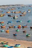 Mui ne fishing village Stock Photos