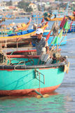 Mui ne fishing village Royalty Free Stock Image