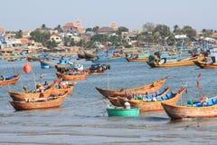Mui ne fishing village Royalty Free Stock Photography