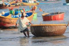 Mui ne fishing village in Vietnam Stock Photo