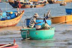 Mui ne fishing village in Vietnam Royalty Free Stock Photo