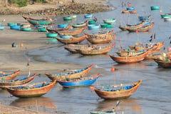 Mui ne fishing village in Vietnam Royalty Free Stock Image