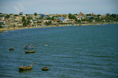 Mui Ne Harbor, Vietnam Stock Fotografie