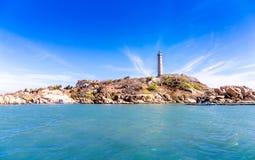 MUI NE kurort, widok Ke dziąseł wyspa PHAN THIET WIETNAM, LUTY - 20, 2015 - zdjęcie royalty free