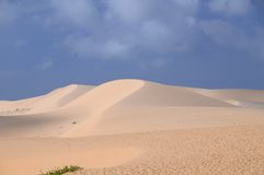 Mui Ne sand dunes Stock Photo