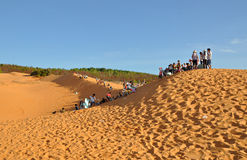 Mui Ne Sand Dunes Royalty Free Stock Images